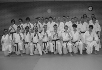 Karate in Brussels - Adult classes